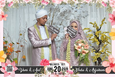 Vani dan Firda Wedding Photobooth Gallery
