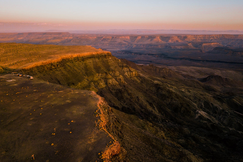 Sunset Over Fish River Canyon, Southern Namibia 2017