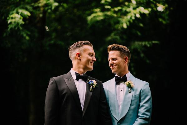 Sam and Brian - wedding