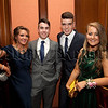 St Mary's High School Newry Formal.Claire Mc Cabe,Sean Heaney,Cliona Collins and Sean Casey.R1340725