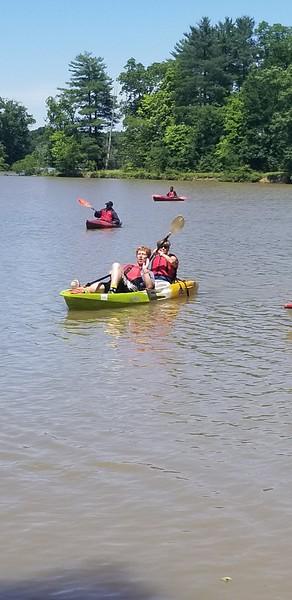 Saturday Kayaking