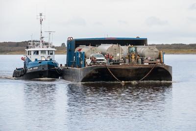 Tug Nelson River returning 2015 October 1st