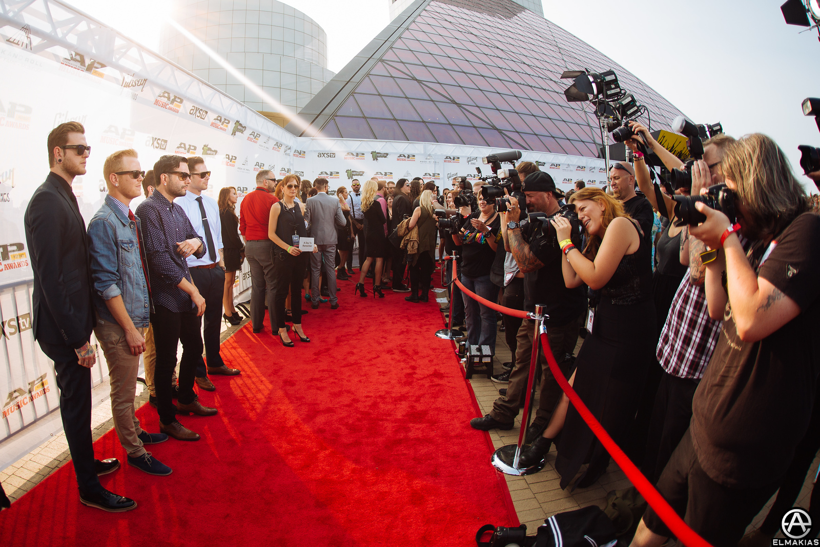 Red Carpet with A Day To Remember