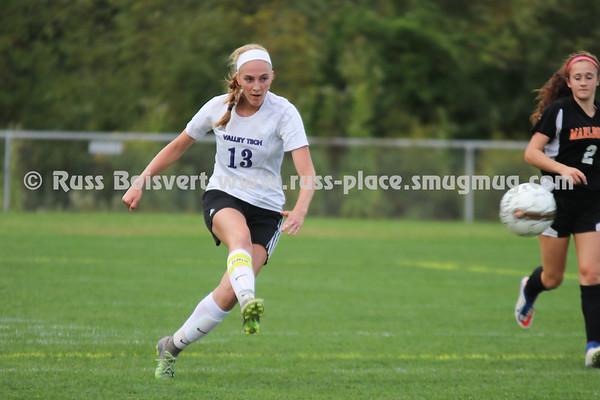 BVT Girls Varsity Soccer vs Marlboro