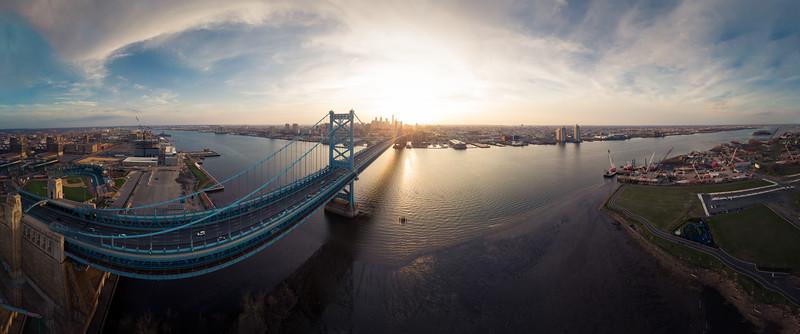 Philadelphia Over The Ben Sunset Pano 14-2018.jpg