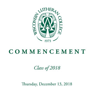 WLC 2018 Fall Commencement