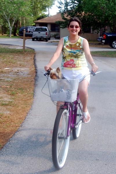 030 Jewels and Lisa on bike.jpg