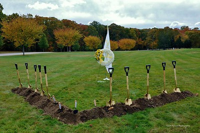 Rhode Island Gold Star Families Memorial Groundbreaking Ceremony, 20 OCT 19