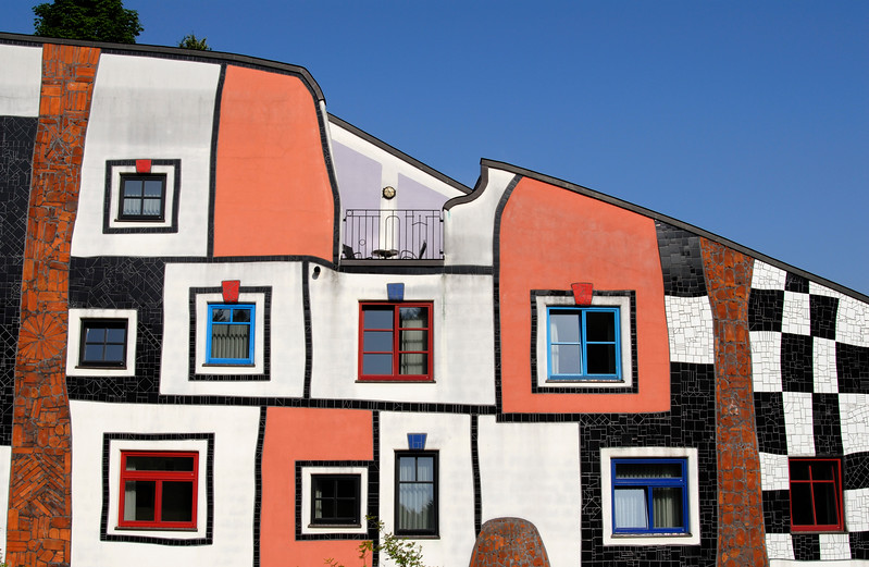 Facade of Kunsthaus, Bad Blumau (Austria)