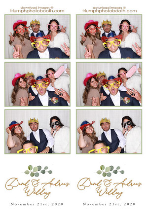 11/21/20 - David & Andrea's Wedding