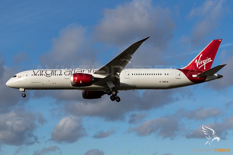 Virgin Atlantic / Boeing 787-9 / G-VNEW