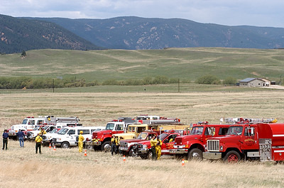 Douglas County Wildland Drill