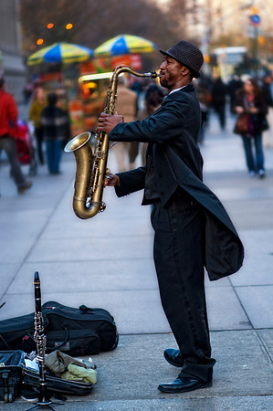 New York City Street Musicians