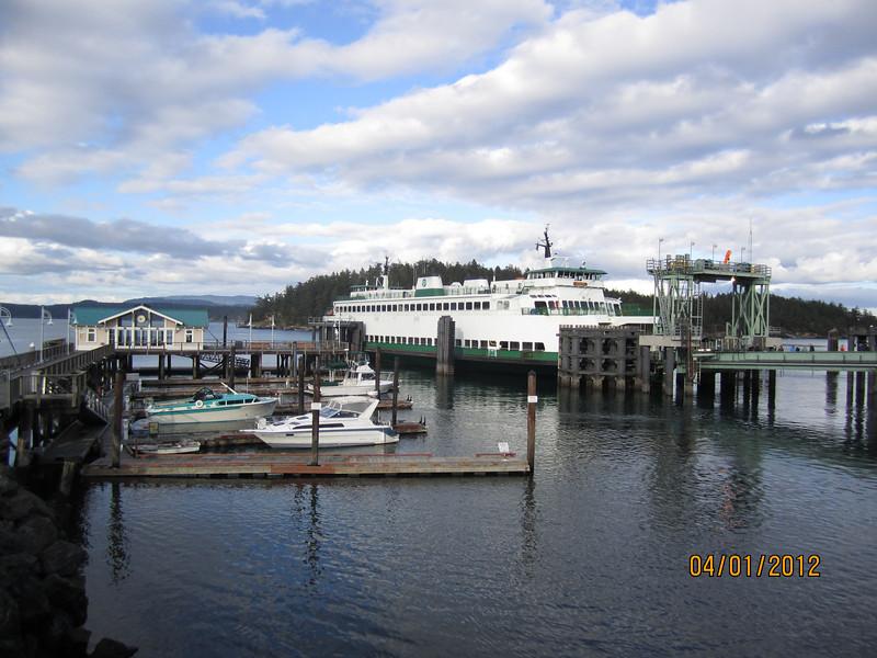 Ferry at Friday Harbor