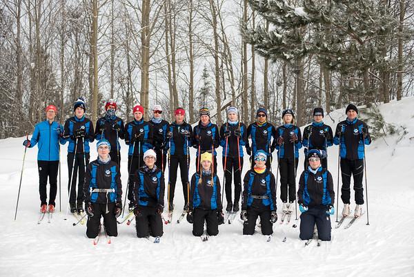 ski tigers - group photos 2019