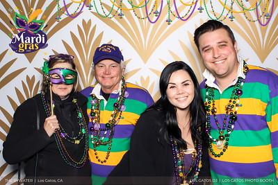 Mardi Gras Beads Overlay