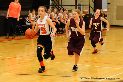 Jonesville 7th Grade Girls Basketball