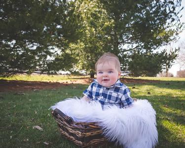 Wyatt - 6 Month Portraits