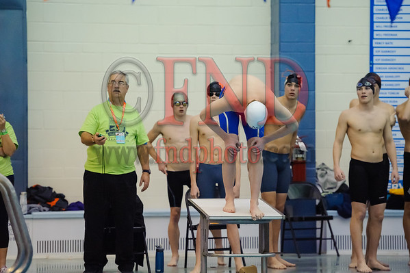 2018 NCHSAA 2A Swim and Dive competition