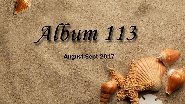 ALBUM 113 AUG-SEP 2017