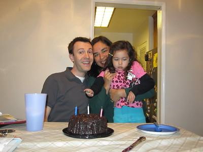 12/03 - Daddy's birthday cake
