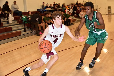 AMHS Boys JV Basketball vs MSJ photos by Gary Baker