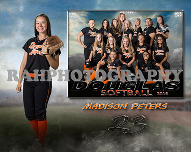 DHS JV Softball Sportsmate Collage