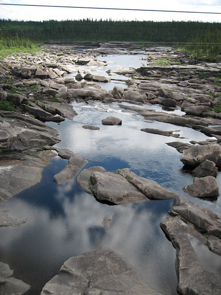 Churchill Falls river