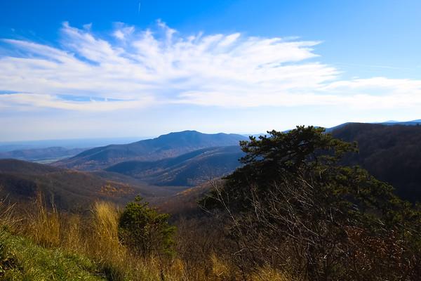 Blue Ridge Mountains-Skyline Drive 2015