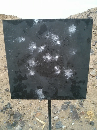 600 Yards & Cortina Testing @ 100 - August 3, 2014