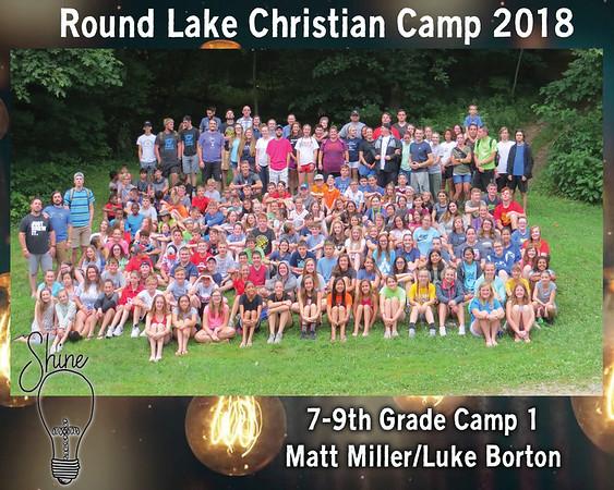 7-9th Grade Camp 1