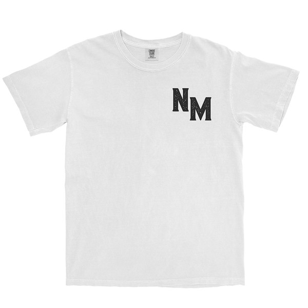 Organ Mountain Outfitters - Outdoor Apparel - Mens T-Shirt - NM Bold Tee - White Front.jpg