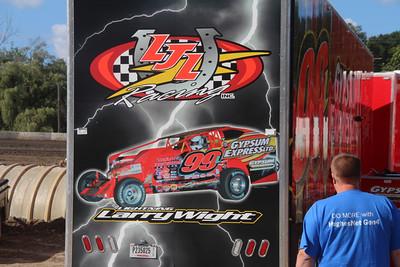Mr. DIRT Track USA-Lebanon Valley Speedway-Jeremy McGaffin-8/15/13