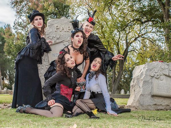 Vampires in the Cemetery