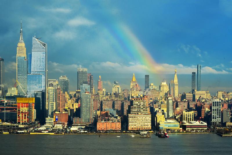 NYC April Rainbow