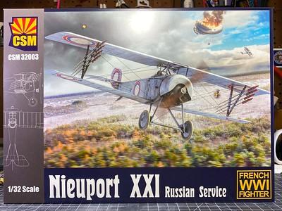 CSM Nieuport XXI Russian Service