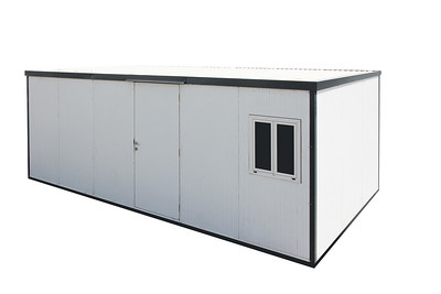 Flat Roof Insulated Building 22x10