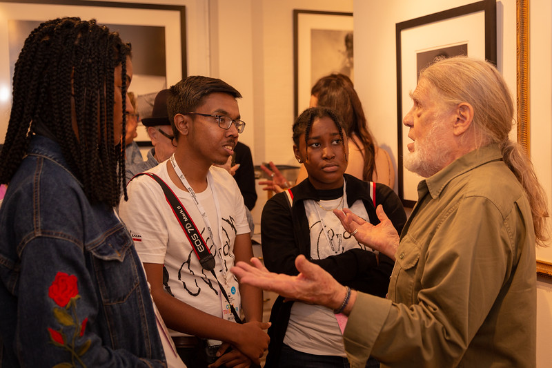 2018, Come Together NYC, Henry Diltz, Morrison Hotel Gallery, New York City, Photo Students, September 13