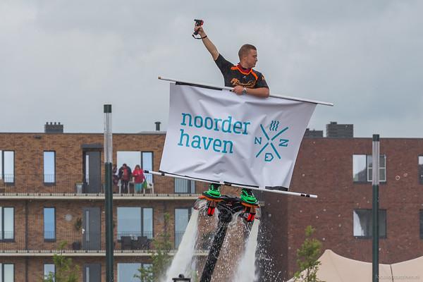 Jachthaven Noorderhaven, officiële opening