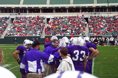 2002 Varsity Football vs. Huber Heights Wayne