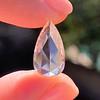 3.33ct Pear Shaped Rose Cut Diamond 6