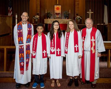 2017 Salem Lutheran Confirmation