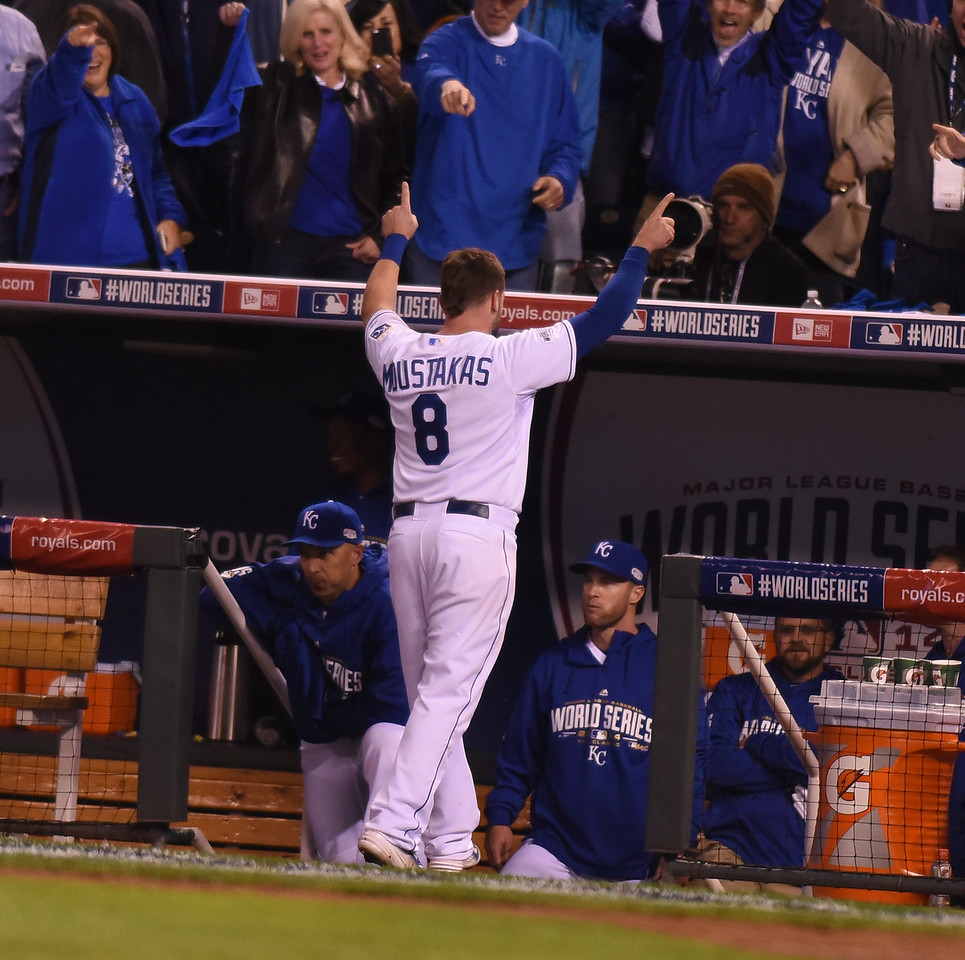 Royals-Giants World Series Game 6
