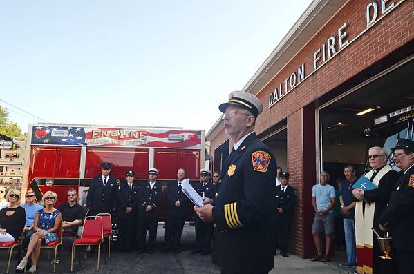 Dalton Fire Truck dedication - 080419