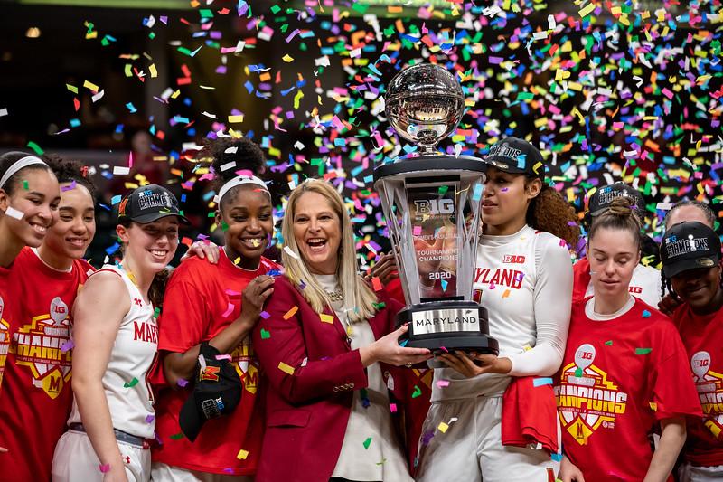 Big Ten Women's Tourney Ohio State vs Maryland