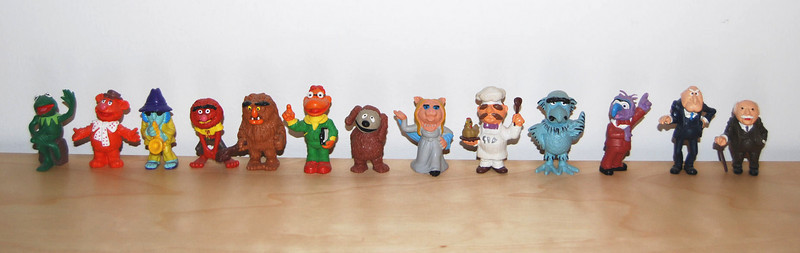 Muppet Show PVC figures from Schleich 1977-1979