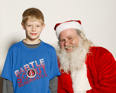 Pack 3201 with Santa