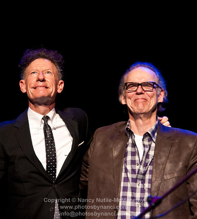 With Lyle Lovett 2013