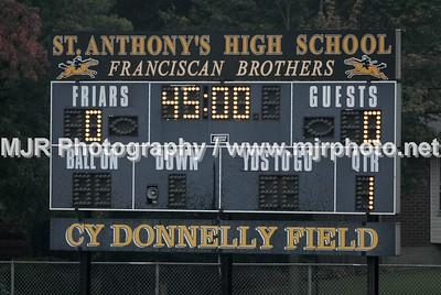 St Johns vs St Anthony's Boys Varsity (9-19-06)