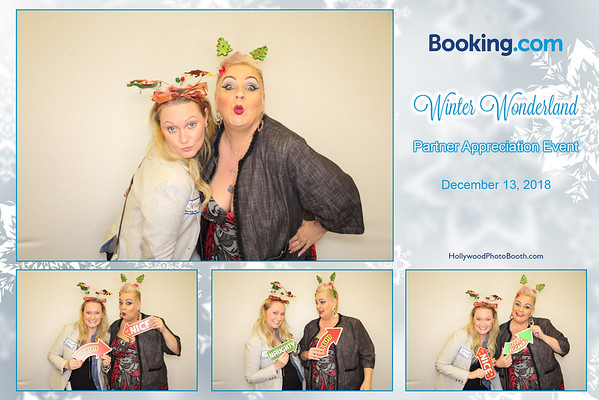 Booking.com's Winter Wonderland